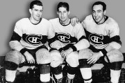 Maurice Richard, Elmer Lach et Toe Blake... (PHOTO ARCHIVES LA PRESSE) - image 1.0