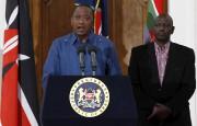 Le président du Kenya, Uhuru Kenyatta ... (Photo Thomas Mukoya, Reuters) - image 1.0