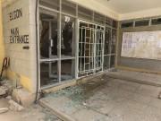 Dans la résidence universitaire, l'entrée du bâtiment Elgon... (PHOTO ADOW JUBAT, AP) - image 2.0