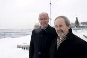 Le maire de Trois-Rivières, Yves Lévesque (à gauche),... (Photo d'archives: Sylvain Mayer, Le Nouvelliste) - image 1.0