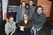Gabrielle Côté, Christian Lapointe, Jean-François Lessard et Alexandre... (Le Soleil, Jean-Marie Villeneuve) - image 2.0