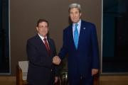 Le ministre cubain des Affaires étrangères Bruno Rodriguez... (PHOTO AFP/DÉPARTEMENT D'ÉTAT DES ÉTATS-UNIS) - image 2.0