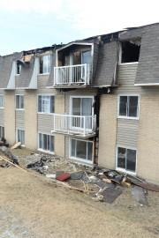 Le feu survenu sur la 13e Avenue à... (Imacom, Maxime Picard) - image 1.0