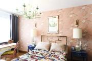 La tapisserie de la chambre principale (Cole&son, chez... (Photo Bernard Brault, La Presse) - image 1.0