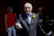 Gabriel Garcia Marquez en mars 2014.... (Photo Eduardo Verdugo, Archives AP) - image 1.0