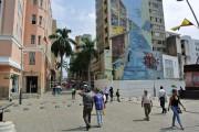 Une murale égaie le centre de la ville.... (PHOTO DAVID RIENDEAU, COLLABORATION SPÉCIALE) - image 4.0