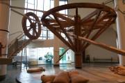 Ce marche-à-terre trônant dans le hall du Musée... (Photo: archives Le Nouvelliste) - image 19.0
