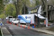 Exemple d'installation à Montréal de la gaine Aquapipe,... (PHOTO FOURNIE PAR SANEXEN) - image 5.0