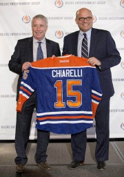 Bob Nicholson et Peter Chiarelli... (PHOTO JASON FRANSON, PC) - image 1.0