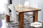 Un modèle de la table Selena en bois... (Photo fournie par l'Usine, Jessie-Ann Kack) - image 1.1
