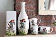 Ces tasses et ces vases arborent le personnage... (Le Soleil, Patrice Laroche) - image 1.0