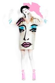 Cette robe affiche l'un des quatorze tableaux réalisés... (Photo fournie par Volt) - image 1.0