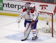 Carey Price et P.K. Subban se félicitent après... (La Presse Canadienne, Adrian Wyld) - image 1.0