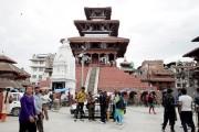 Le temple de Maju Deval, à Katmandou, avant... (PHOTO LOLITA BÉLAND, COLLABORATION SPÉCIALE) - image 2.0