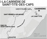 Des résidents s'y opposent. Les municipalités de Saint-Tite-des-Caps... - image 1.0