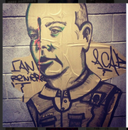 Le graffiti du commandant du SPVM en question... (PHOTO TIRÉE DE L'INTERNET) - image 1.0