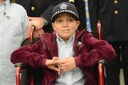 Emily Beazley est atteinte d'un lymphome non hodgkinien.... (Photo Brian Jackson, Chicago Tribune/AP) - image 1.0
