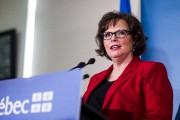 Lucie Charlebois,ministre déléguée à la Santé publique... (PHOTO OLIVIER PONTBRIAND, ARCHIVES LA PRESSE) - image 1.0