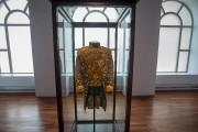 Nelson's Jacket, 2011, Coton wax hollandais imprimé, mannequin... (Photo Ivanoh Demers, La Presse) - image 1.0