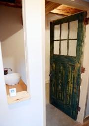 Cette porte a été restaurée. L'ouverture face au... (Le Soleil, Erick Labbé) - image 1.0