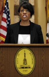La mairesse de Baltimore Stephanie Rawlings-Blake.... (Photo: AP) - image 2.0