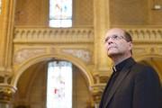 Le curé Pierre Gingras présidera sa dernière messe... (Le Soleil, Yan Doublet) - image 1.0