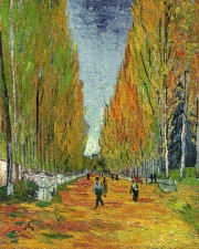L'oeuvre de Vincent Van Gogh L'allée des Alyscamps a été... (Photo: AP) - image 2.0