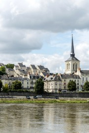 L'église Saint-Pierre à Saumur. ... (Photo Digital/Thinkstock) - image 1.0