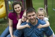 Avec deux enfants nés prématurément, la vie a... (PHOTO: STÉPHANE LESSARD) - image 1.0
