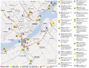 La moitié des 25 grands chantiers routiers que... (Infographie Le Soleil) - image 1.0