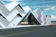 Le projet Miura de Roxane Routhier-Audet. Le bâtiment... (Image fournie par Roxane Routhier-Audet) - image 1.0