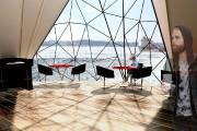 Les formes triangulaires de Shelter, signé Josiane Martin,... (Image fournie par Josiane Martin) - image 2.0