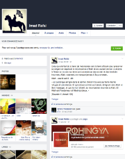 La semaine dernière, Imad Rafai a mis à... (CAPTURE D'ÉCRAN TIRÉE DE FACEBOOK) - image 1.0