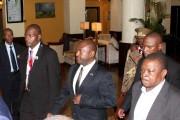 Le président Piere Nkurunziza (au centre) àDar es... (PHOTO ARCHIVES REUTERS/STRINGER) - image 1.1