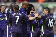 Grâce à sa victoire, Manchester City évite le... (PHOTO GLYN KIRK, AFP) - image 2.0