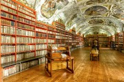 La bibliothèque du monastère Strahov... (Photo Flickr) - image 9.0