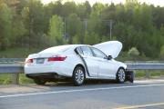 Le véhicule à bord duquel se trouvait la... (Martin Roy, LeDroit) - image 1.0