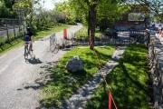Une fois la construction du nouveau rond-point terminée,... (PHOTO OLIVIER PONTBRIAND, LA PRESSE) - image 3.0