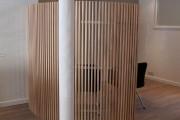 Posées à la verticale et en courbe, ces... (Photo tirée du site www.insidecreation.fr) - image 3.0