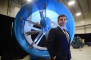 Le président-directeur général de la société d'ingénierie SERDIM,... (Photo: Sylvain Mayer, Le Nouvelliste) - image 1.0