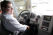 Karl Breton a pris le volant de l'autobus... (Le Soleil, Yves Therrien) - image 2.0