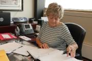 Nicole Bouchard occupe le même bureau au Colisée... (Le Soleil, Erick Labbé) - image 3.0