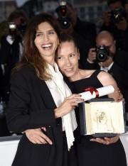 La réalisatrice Maïwenn et son actriceEmmanuelle Bercot.... (Photo: AFP) - image 2.0