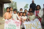 Les enfants du village de Langol sont déjà... - image 1.0