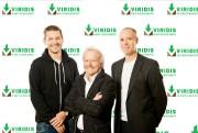 Les trois actionnaires de Viridis Environnement : Simon... (Photo fournie par Viridis Environnement) - image 6.0