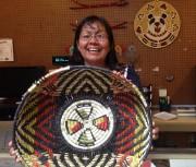 Iva Honyestewa, du clan hopi du soleil, tisse... (Photo Simon Chabot, La Presse) - image 4.0