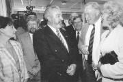 En août 1994, avec sa femme Lisette Lapointe... (Archives Le Soleil) - image 1.0