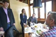 Julie Snyder a fait escale au restaurant Sagamité,... (Le Soleil, Yan Doublet) - image 1.0