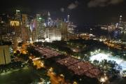 Des milliers de personnes commençaient jeudi soir à... (PHOTO TYRONE SIU, REUTERS) - image 1.0