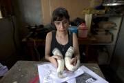 Ana Suassuna... (PHOTO HECTOR RETAMAL, AFP) - image 1.0